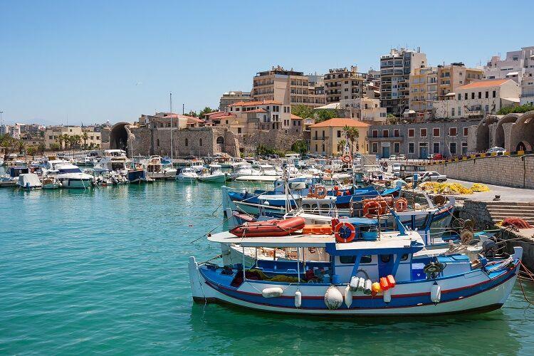 Prístav mesta heraklion na kréte