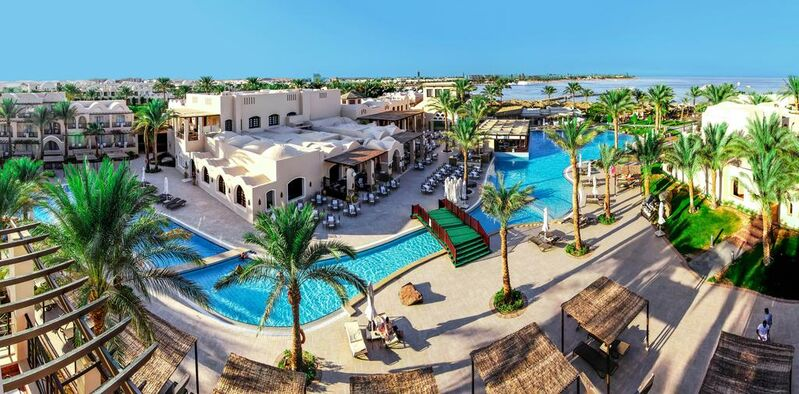Hotel jaz makadina v egypte