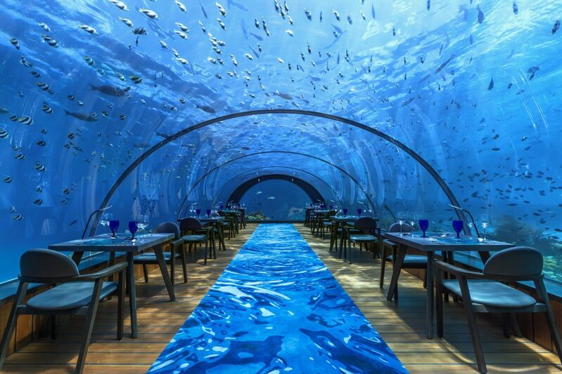 Reštaurácia hurawalhi na maldivách