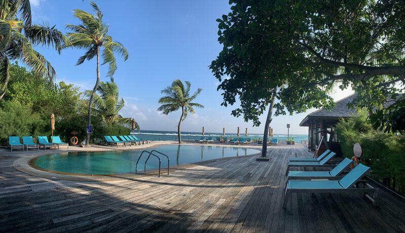 Bezén na maldivách