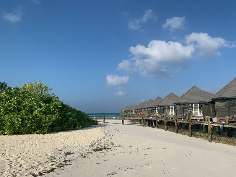 Plážové vilky