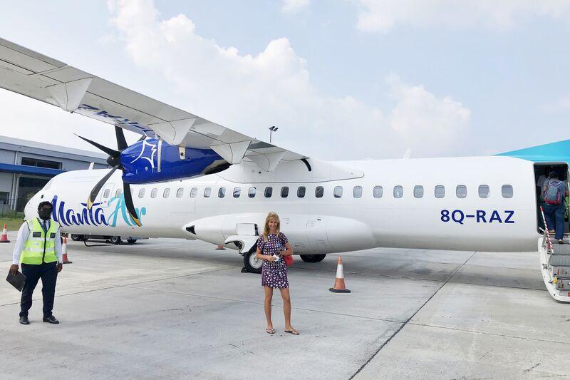 Norika pri lietadle