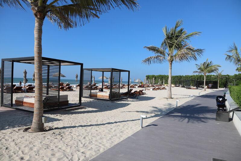 Pláž hotela oberoi