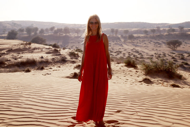 Žena na púšti