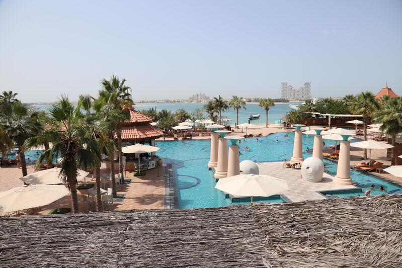 Výhľad hotela anantara