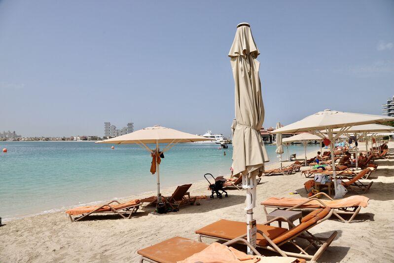 Pláž hotela anantara