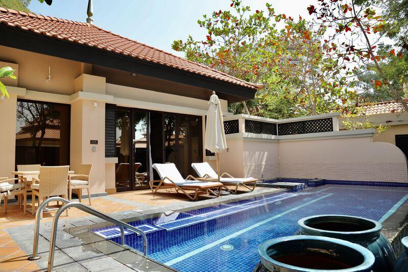 Suita s bazénom hotela anantara