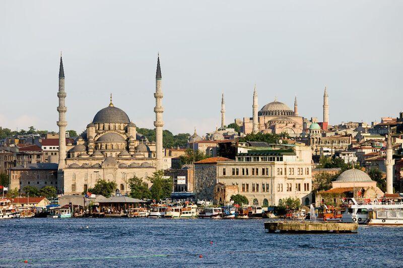 Mešity v istanbule v turecku