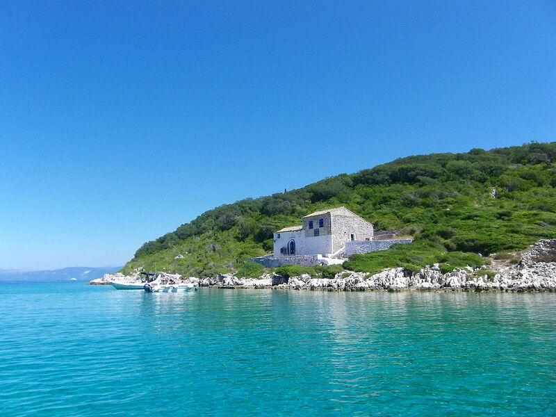 Ostrov paxos v grécku