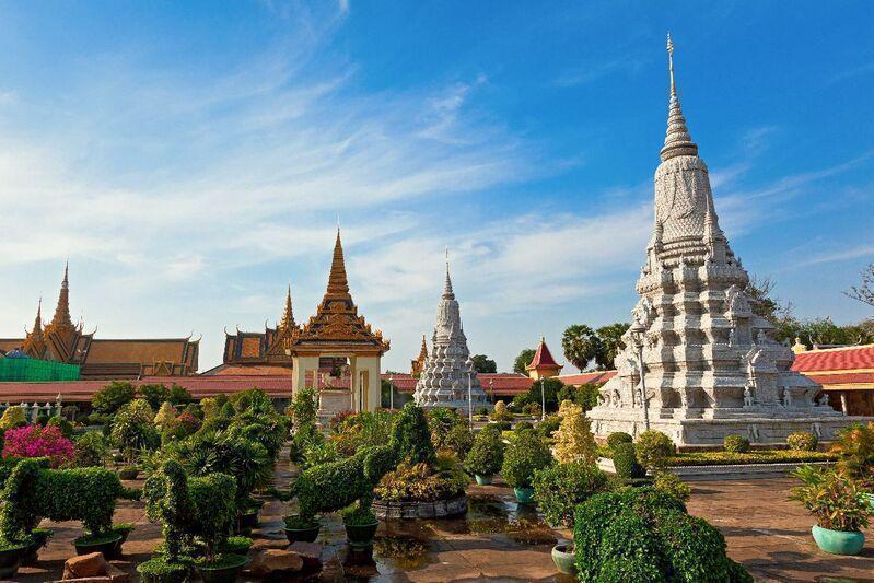 Hlavné mesto kambodži phnom penh