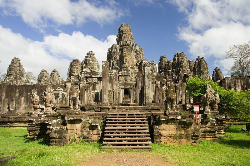 Bayon v kambodži