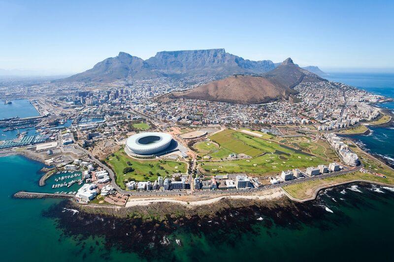 Kapské mesto a stolová hora