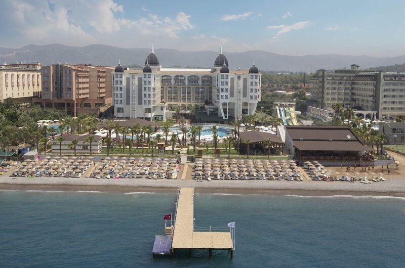 Hotel Kirman Sidera Luxury and Spa, Turecká riviéra
