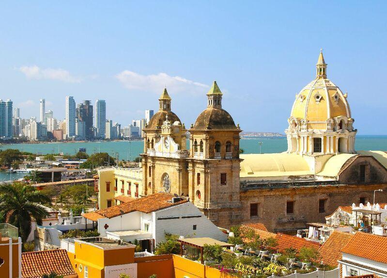 Hlavné mesto kolumbie bogota