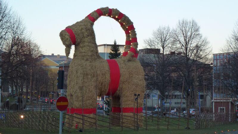 Koza yule v švédsku