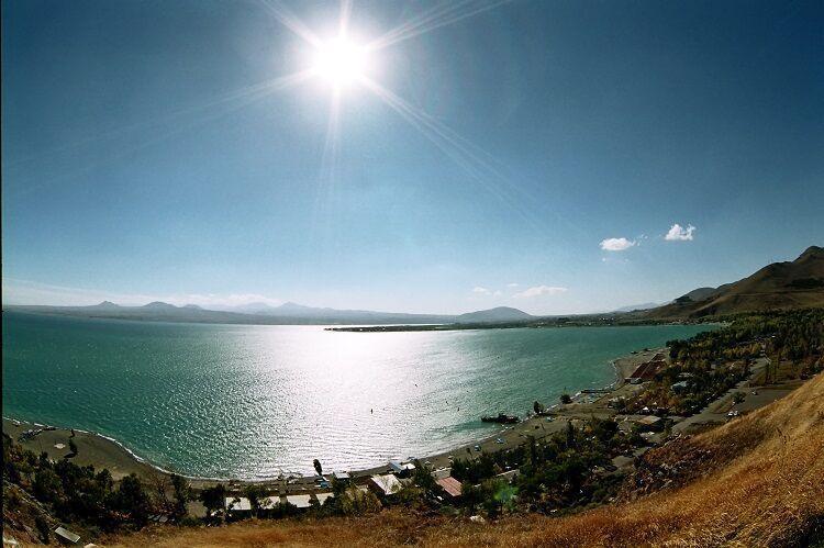 Jazero sevan v arménsku