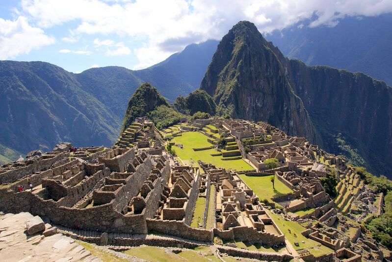 Macchu Picchu pohľad