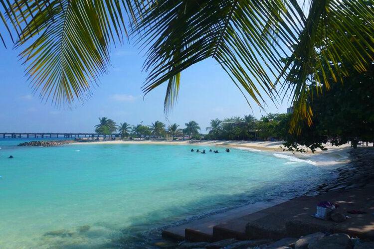 Pláž na Male