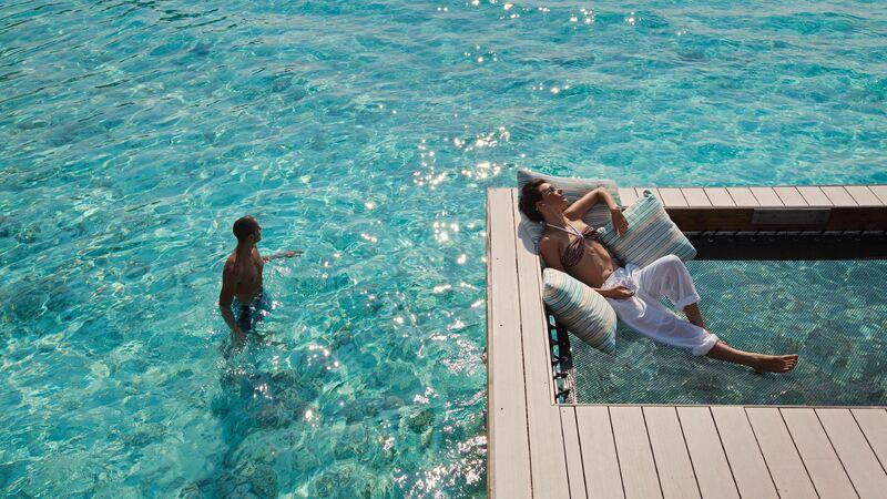Pár na maldivách