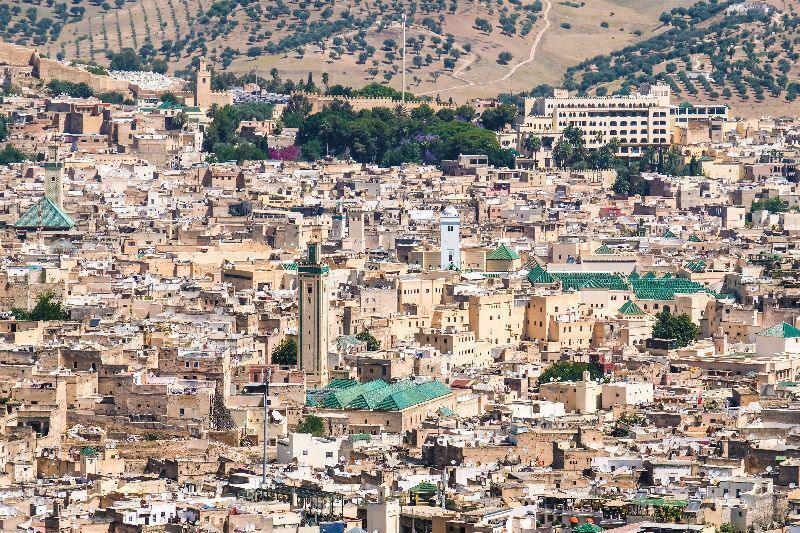 Medina mesta fez v maroku