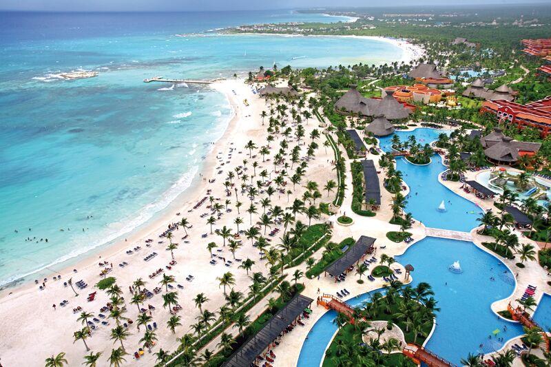 Pláž hotela mayeres