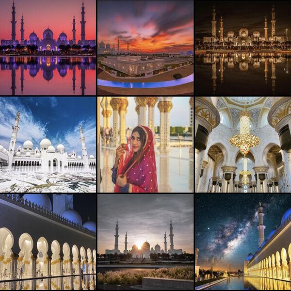Mešita Abu Dhabi