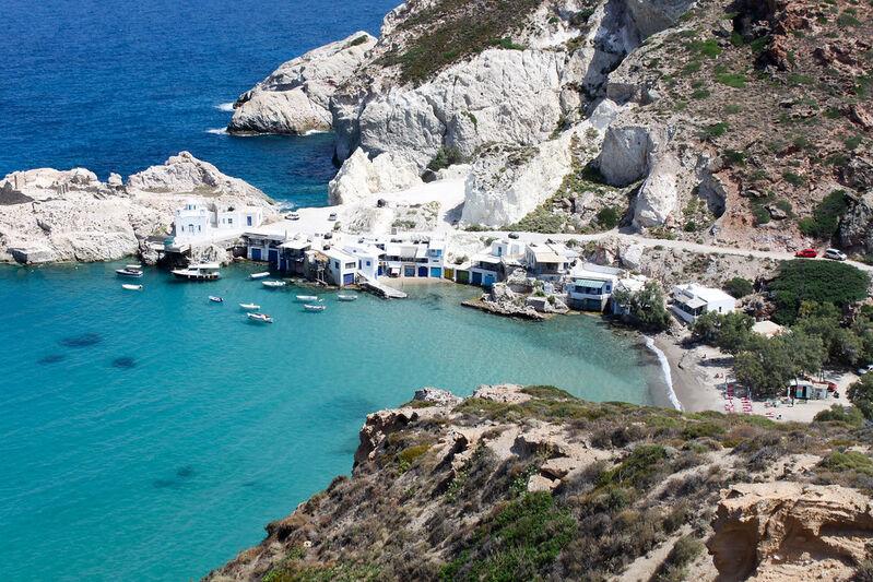 Ostrov milos v grécku