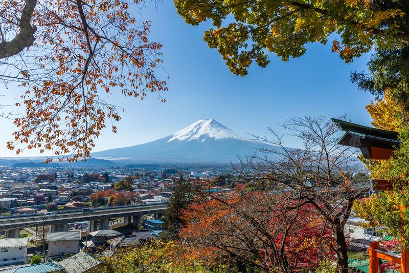 Hora fuji v japonsku