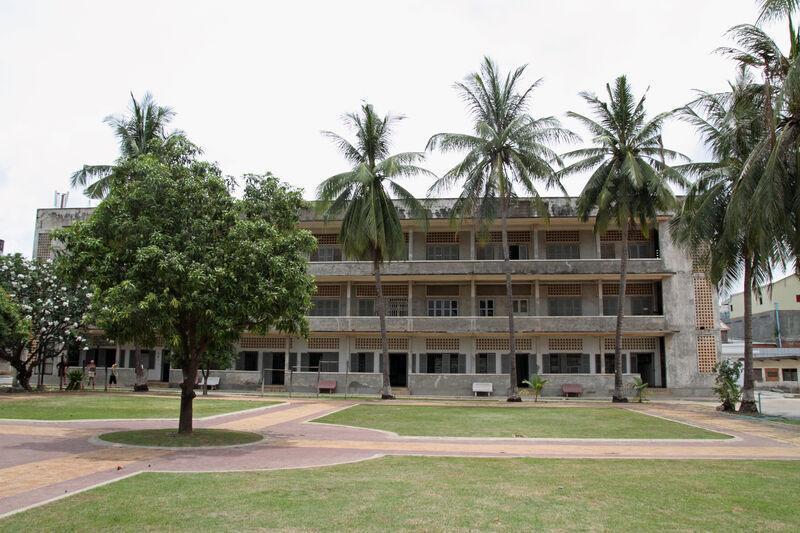Múzeum genocídy v kambodži