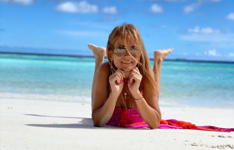 Norika fedorová na pláži