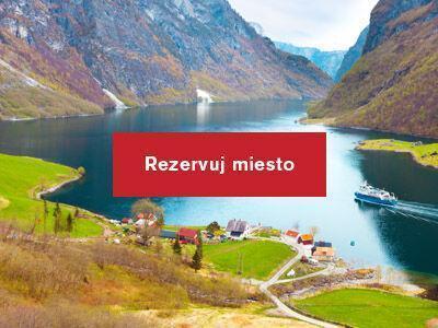 Cestokino festival 2019 na tému Nórske Fjordy
