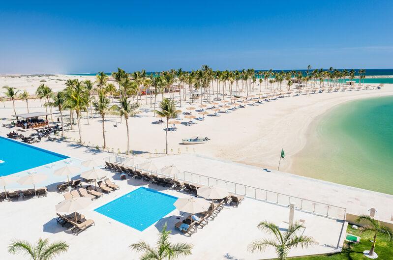 Pláž v ománe