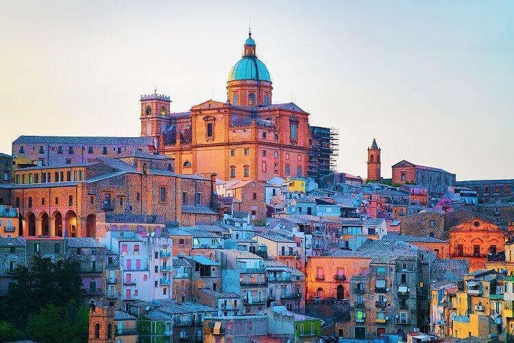 Piazza Armerina na sicílii