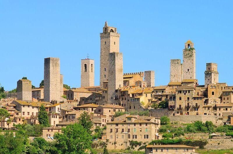 San Gimignano, Toskánsko