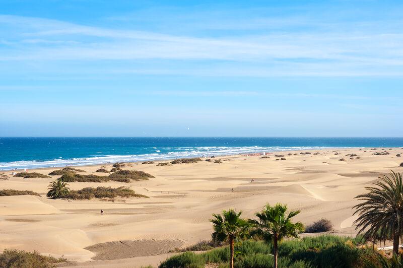 Pieskové duny v Maspalomas