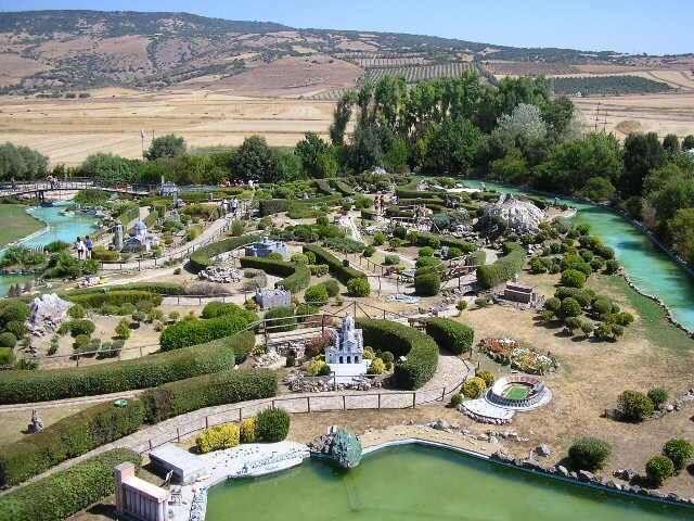 Park miniatúr na sardínií