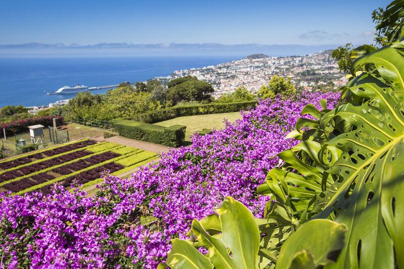 Botanická záhrada na Madeire