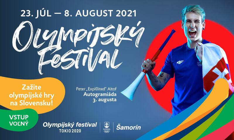 Plagát Olympijský festival Šamorín