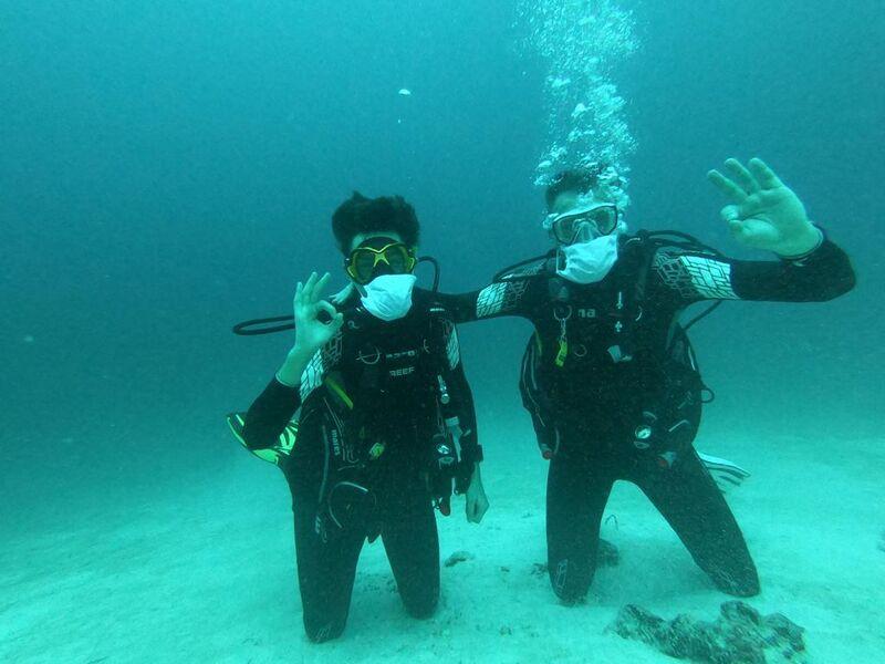 Potápanie na olhuveli