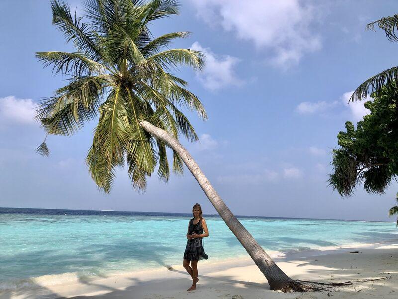 Norika pod palmou