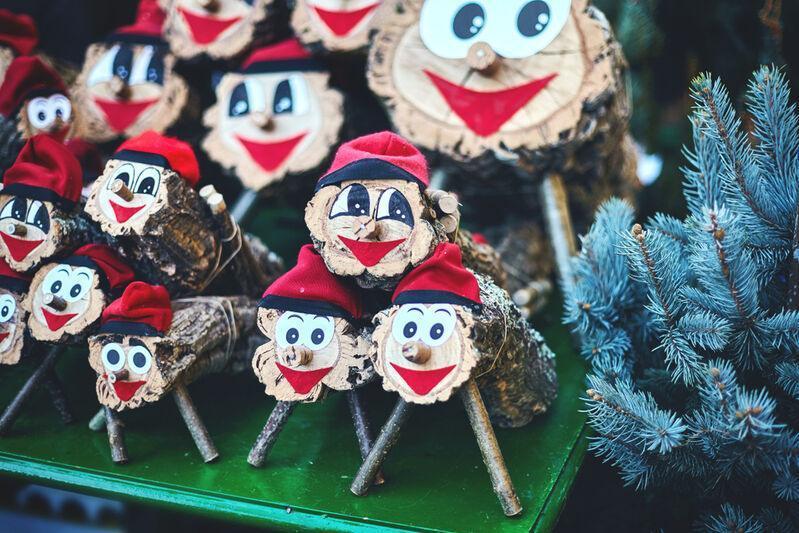Vianočné polienka Tio de Nadal