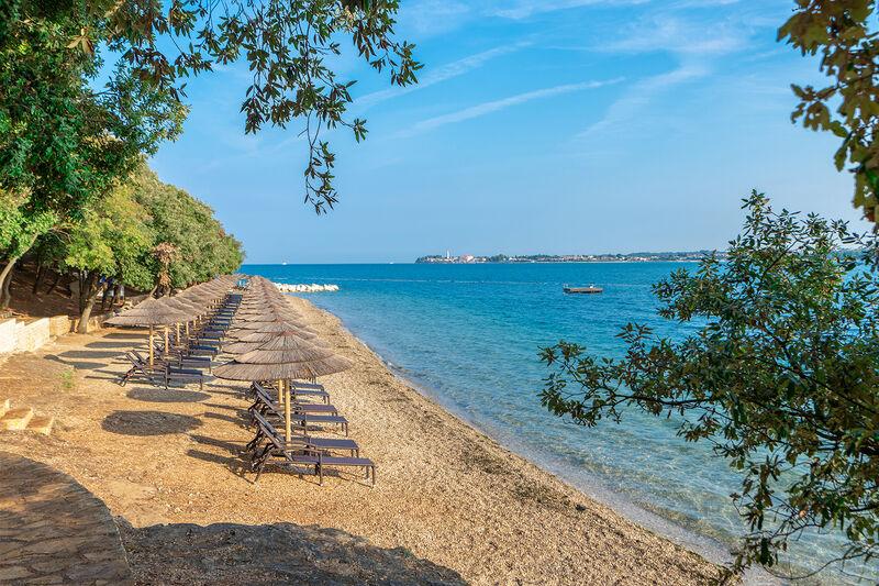 Pláž pri hoteli Valamar