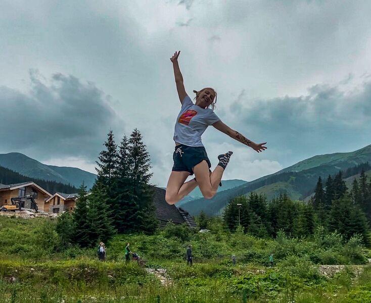 Vanes a jej výskok