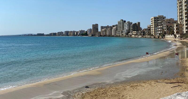 Varosha pláž
