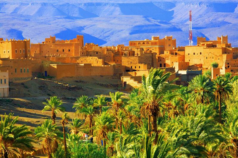 Marocká dedinka
