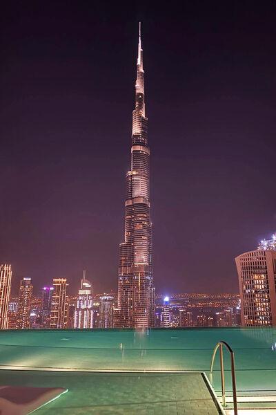 Výhľad na Burj Khalifu