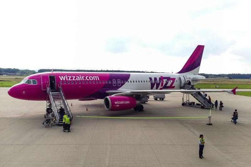 Lietadlo spoločnosti wizzair