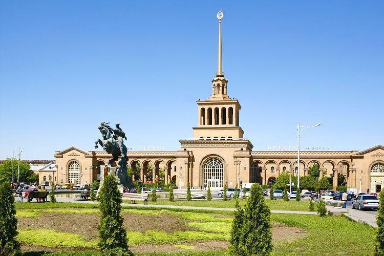 Mesto yerevan v arménsku