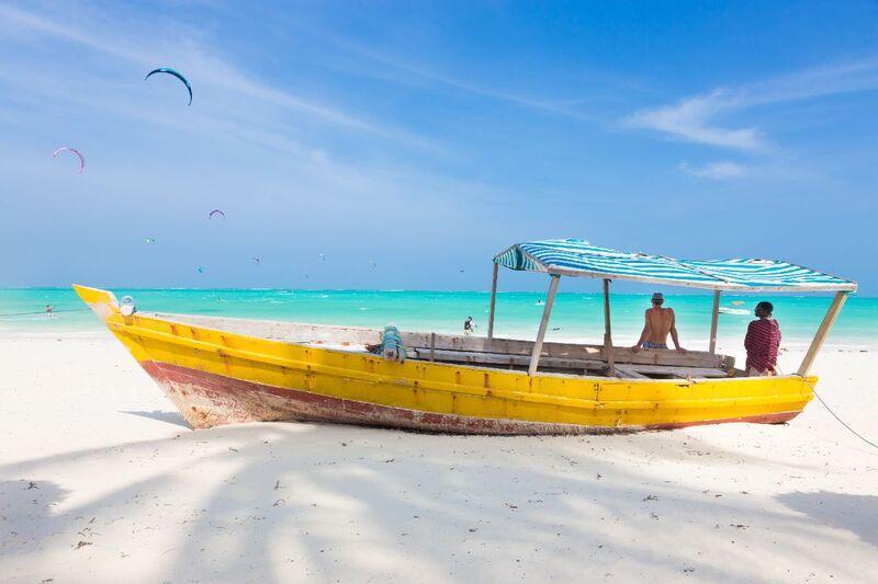 Pláž v zanzibare