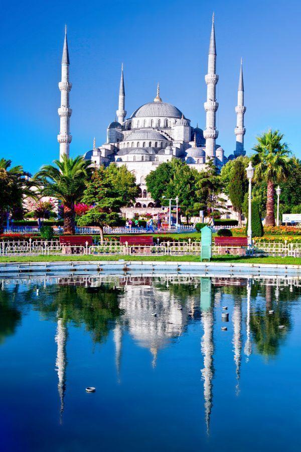 Mešita sultána Ahmeda, Modrá mešita, Istanbul
